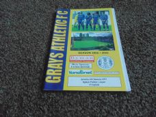 Grays Athletic v Enfield, 2002/03